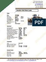 Datasheet for Caterpillar 966H