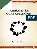 Ravening Hordes - Ogre Kingdoms 9th Ed