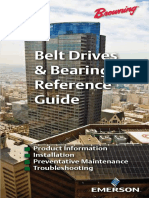 Belt Drives & Bearings Reference Guide