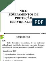 Nr 6 Equipasmentos de Proteção Individual Epi