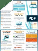 OpenMedia.ca Brochure