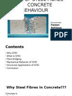 Effect of Steel Fibers on Behavior of Concrete