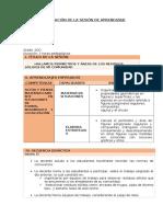 SESION DE APRENDIZAJE  AREAS Y PERIMETROS DE SOLIDOS.odt