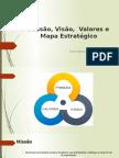Missão, Visão, Valores e Mapa Estratégico