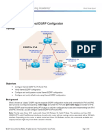 CCNPv7 ROUTE Lab2-4 EIGRP-Named-Configuration Student