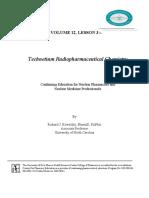 Technetium Radiopharmaceutical Chemistry