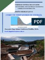 Disipasdores de Energía-Resalto Hidráulico