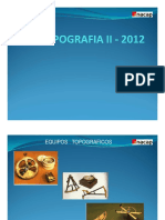 TALLER TOPOGRAFIA II-2011-Instrumentos Topograficos