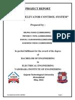 Plc Based Elevator(Group-1) n2