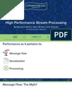 SpringOne2015-StephaneMaldiniGlennRenfroDavidTuranski-HighPerformanceStreamProcessing