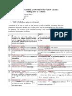 Final Assignment for Vant140 Calculu5