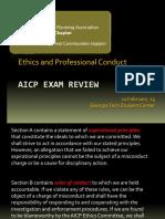 9 AICP Exam Prep Ethics 2016