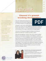 Pro Life Campaign Ireland Newsletter - Birthright November 2007