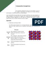 Compuestos Inorganicos y Organicos