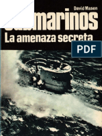 Editorial San Martin - Armas #28 - Submarinos. La Amenaza Secreta - (1968)
