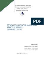 Clasificacacion Arancelaria II Arancel de Aduanas Secciones x Xi Xiv