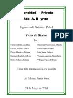 Vicios de diccion (version2)