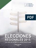 Elecciones Regionales 2015