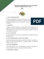 Bases Del Gran Campeonato de Fulbito de La Facultad de Ciencias Económicas de La UNT[1]