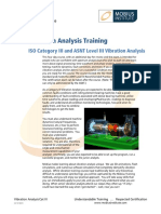 Vibration Analysis ISO Cat III