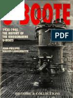 U-Boote - 1935-45 the History of the Kriegsmarine