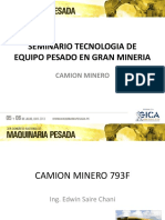 01. Camión Minero - Ing. Edwin Saire Chani