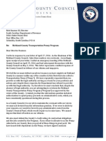 Letter in Response to Rick Reames