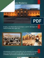 Estado Moderno Diapositiva Historia y Desarrollo Clain