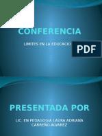 Conferencia de Limites en La Educacion