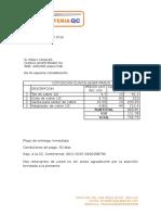 COTIZACION CJP  1105