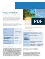 Energy Transition Initiative Islands, Energy Snapshot Antigua and Barbuda, May 2015