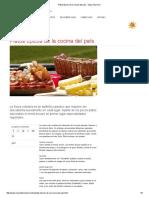 Platos Típicos de La Cocina Del País - Suiza Tourismo