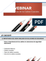 Webinar Cables Coaxiales (1) 06 --Abril -2016