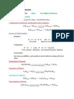 List of All Chemistry Formulas