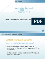 Lesson 2 Infectious Disease