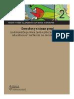 Modulo 2 - Derechos y Sistema Penal. La Dimensión Jurídica de Las Prácticas Educativas en Contextos de Encierro