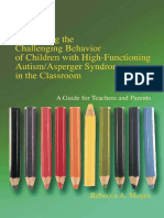 Addressing the Challenging Behavior of Children With High-Functioning Autism_Asperger Syndrome in the Classroom