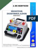 Feas 3850 Defibrillator - Service Manual (Es)