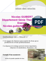 gestion stock
