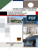 Plan de Capacitacion Sobre Brigadas Entre Hospitales