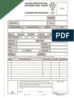 Ficha Inscripcion Individual