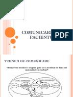 Comunicarea Cu Pacientul 2