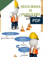 Charla de Seguridad Trabajo en Alturas
