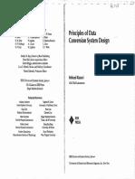Principle of Data Conversion System Design Razavi