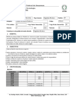 Ftf-027 - Controle de Sistemas Dinâmicos - Plano de Ensino - 2016-1