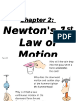 Newton's First Law of Physics