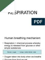 Respiration Form 3 PPT