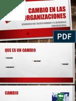 Cambio en Las Organizaciones_diapos