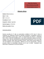 Formato Historia Clinica Practica Medicina Interna