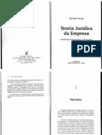 10. Rachel Sztajn - Teoria Jurídica Da Empresa - Cap. 10